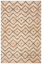 Load image into Gallery viewer, Safavieh Kilim Bohemian Natural & Gray Rug