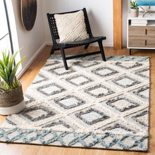 Load image into Gallery viewer, Safavieh Kenya Ivory & Gray Rug