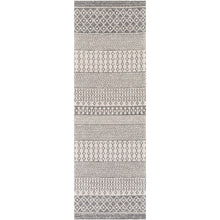 Load image into Gallery viewer, WASHABLE La Casa Charcoal & Silver Rug