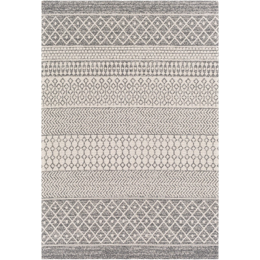 WASHABLE La Casa Charcoal & Silver Rug