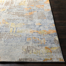 Load image into Gallery viewer, Liverpool Farmhouse Area Rug in Light Gray & Yellow