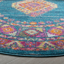 Load image into Gallery viewer, Safavieh Madison Transitional Turquoise & Terracotta Rug