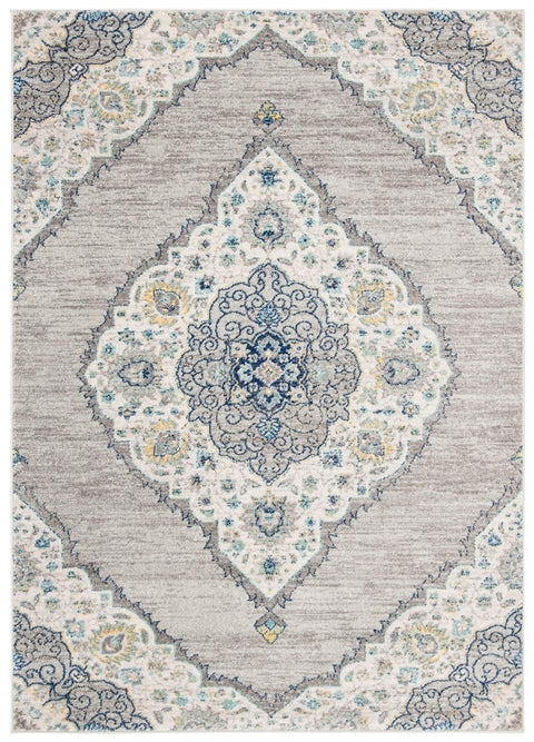 Safavieh Madison Transitional Light Grey & Blue Rug
