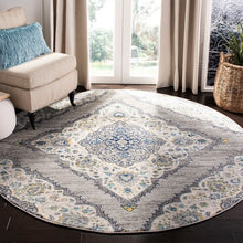Load image into Gallery viewer, Safavieh Madison Transitional Light Grey & Blue Rug