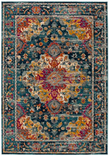 Load image into Gallery viewer, Safavieh Madison Transitional Teal & Fuchsia Rug