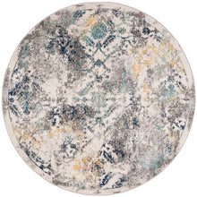 Load image into Gallery viewer, Safavieh Madison Transitional Ivory & Blue Rug