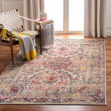 Load image into Gallery viewer, Safavieh Madison Traditional Ivory & Red Rug