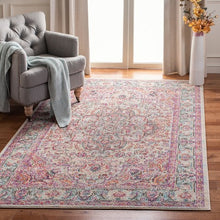 Load image into Gallery viewer, Safavieh Madison Traditional Beige & Blush Rug