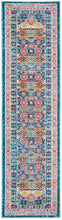 Load image into Gallery viewer, Safavieh Madison Transitional Blue & Fuchsia Rug