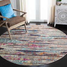 Load image into Gallery viewer, Safavieh Madison Modern Grey & Turquoise Rug