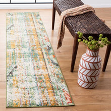 Load image into Gallery viewer, Safavieh Madison Bohemian Green & Orange Rug