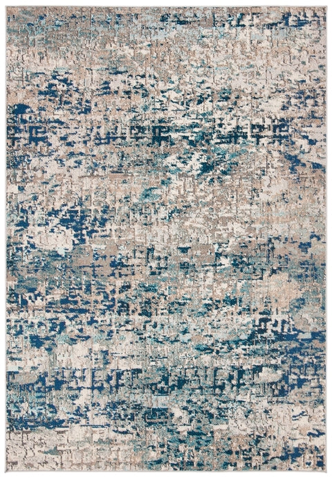 Safavieh Madison Modern Blue & Gray Rug