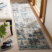 Load image into Gallery viewer, Safavieh Madison Modern Cream & Blue Rug