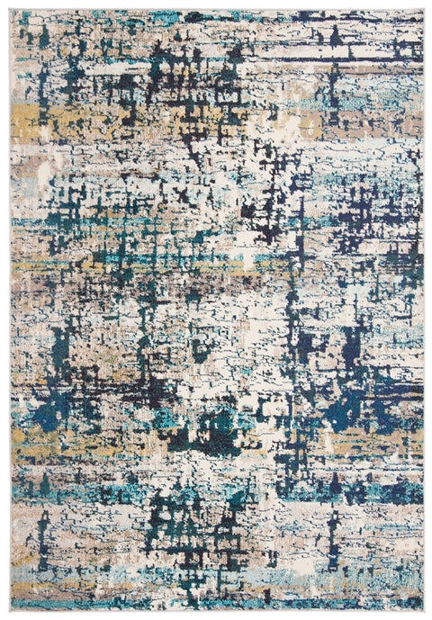 Safavieh Madison Modern Cream & Blue Rug