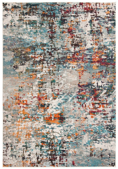 Safavieh Madison Modern Grey & Blue Rug