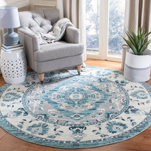 Load image into Gallery viewer, Safavieh Madison Traditional Navy & Grey Rug