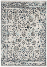 Load image into Gallery viewer, Safavieh Madison Traditional Blue & Light Grey Rug