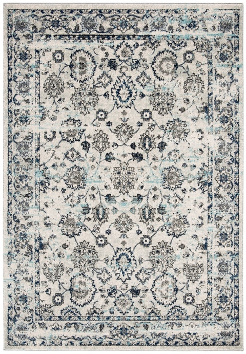 Safavieh Madison Traditional Blue & Light Grey Rug