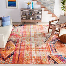 Load image into Gallery viewer, Safavieh Monaco Bohemian Orange & Multi Rug