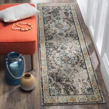 Load image into Gallery viewer, Safavieh Monaco Traditional Gray & Light Blue Rug