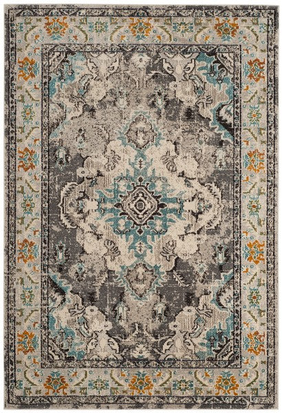Safavieh Monaco Traditional Gray & Light Blue Rug