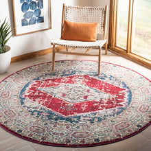 Load image into Gallery viewer, Safavieh Monaco Bohemian Ivory & Red Rug