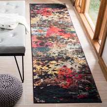Load image into Gallery viewer, Safavieh Monaco Contemporary Brown & Teal Rug