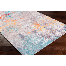 Load image into Gallery viewer, Surya Olivia Terracotta & Sky Blue Rug