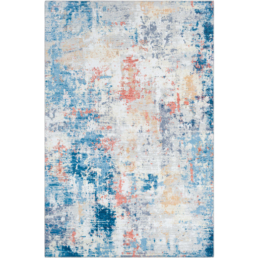 Surya Olivia Navy & Burnt Orange Rug
