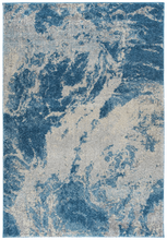 Load image into Gallery viewer, Dalyn Aero Navy & Cream Rug