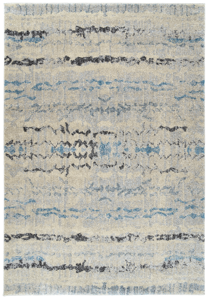 Dalyn Aero Silver & Denim Rug