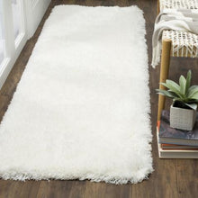 Load image into Gallery viewer, Safavieh Handmade Polar Shag White Rug