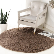 Load image into Gallery viewer, Safavieh Handmade Polar Shag Mushroom Brown Rug