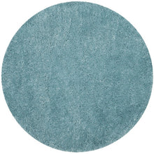 Load image into Gallery viewer, Safavieh Handmade Polar Shag Turquoise Rug