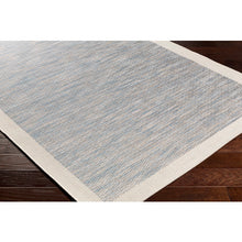 Load image into Gallery viewer, Santa Cruz Blue & Taupe Indoor/Outdoor Rug