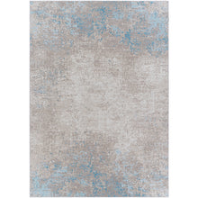Load image into Gallery viewer, Pet-Friendly Costa Mesa Sky Blue & Taupe Area Rug