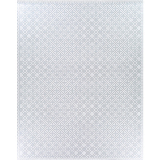 Pet-Friendly Vinilo Light Gray & White Area Rug