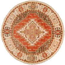Load image into Gallery viewer, Luxury Zeus Terracotta & Butter Rug