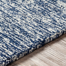 Load image into Gallery viewer, Joanna Farmhouse Navy & Cream Area Rug