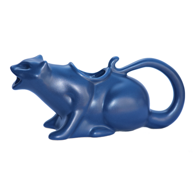 Puking Kitty Gravy Boat (Classic Blue) COMING FALL 2020! - Sublime Feline