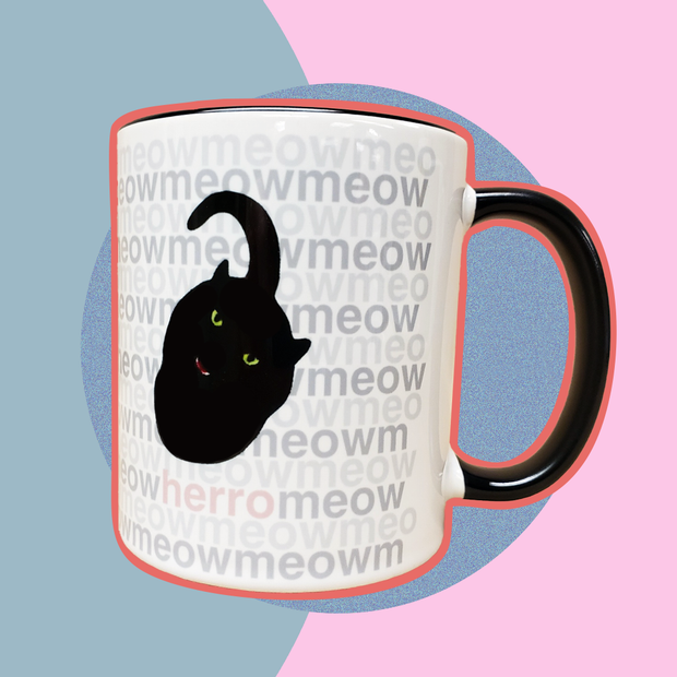 Hidden Message Coffee Mug - Sublime Feline