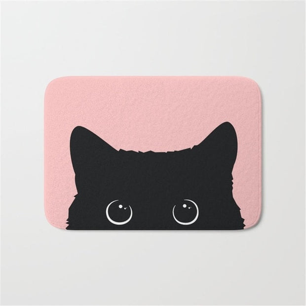 Fuzzy Fleecy Floor Mat - Sublime Feline