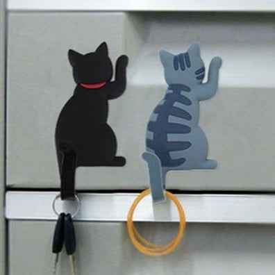 Cat Magnet Hook With Bendy Tail - Sublime Feline