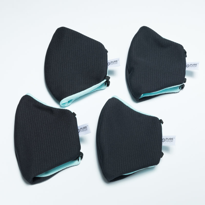 Black Pure Mask 4 Pack