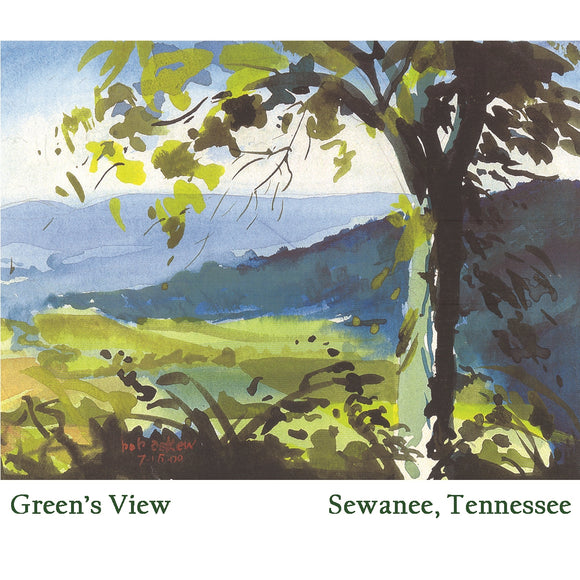 Beverage Napkins - Green's View