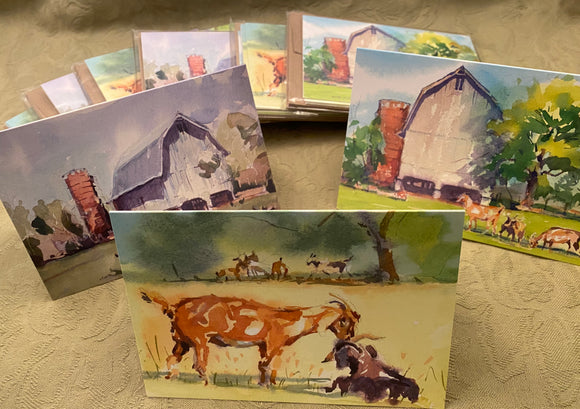 Goat Card notecard Variety Pack