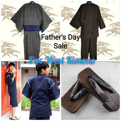 Father's Day Sale May 15 to June 20 | Pac West Kimono