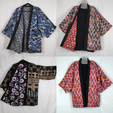 More Warm Hanten coats just added | Pac West Kimono