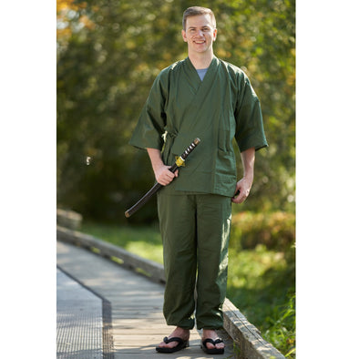 We have re-stocked our popular Samue and added new Men's Jinbei | Pac West Kimono