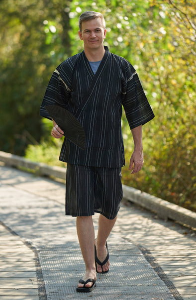 Jinbei - Mens Japanese 2pc pajama/ lounge wear